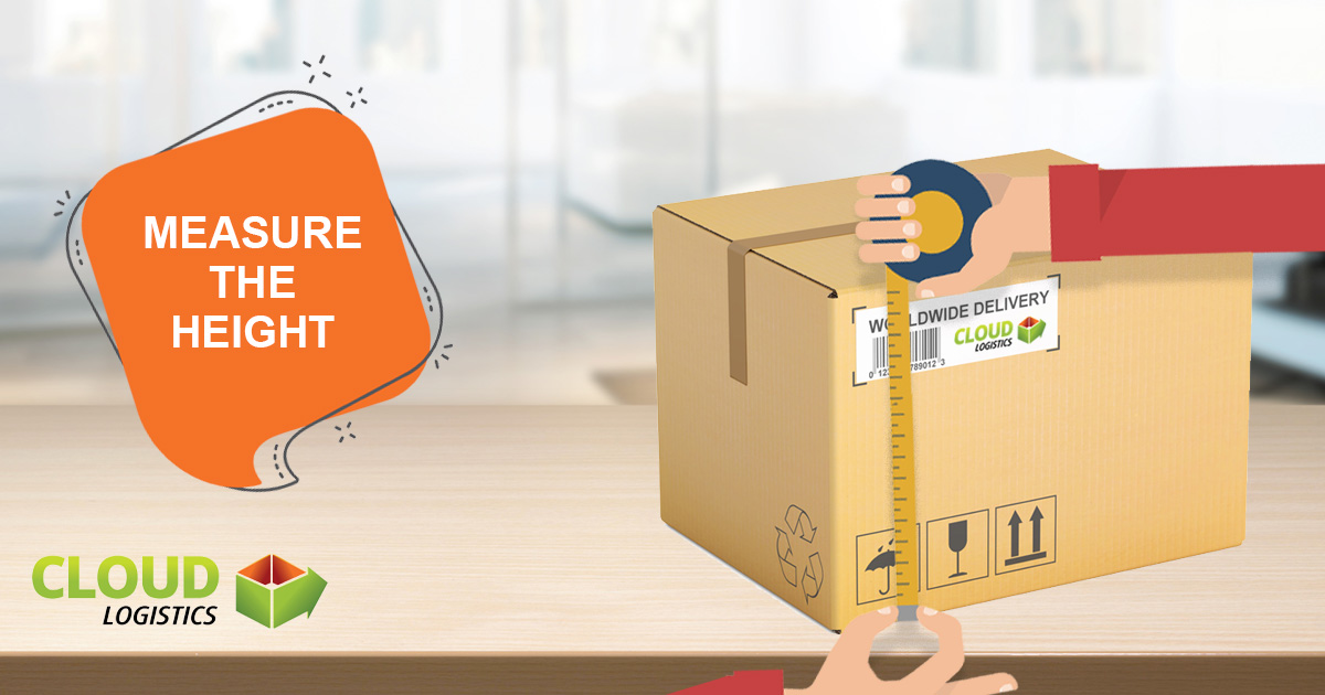 Measure the Height of a Parcel
